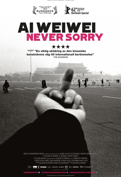 Ai Weiwei - Never Sorry Poster