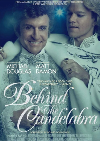 My life with Liberace (Behind the candelabra) Poster