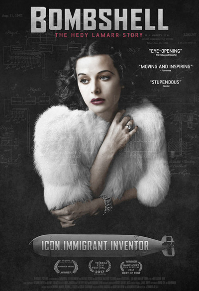 Bombshell - The Hedy Lamarr Story Poster