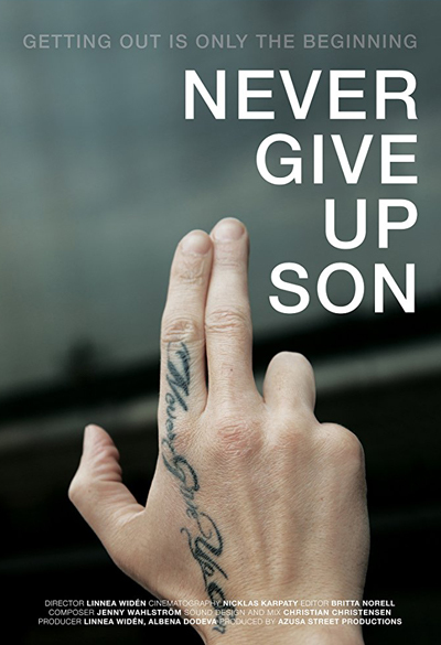 Never Give Up Son Poster