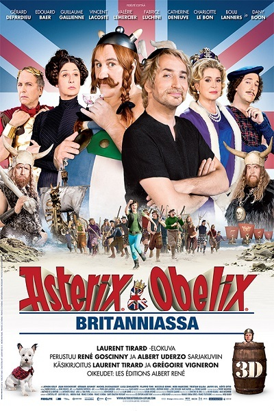 Asterix and Obelix : God save Britannia Poster