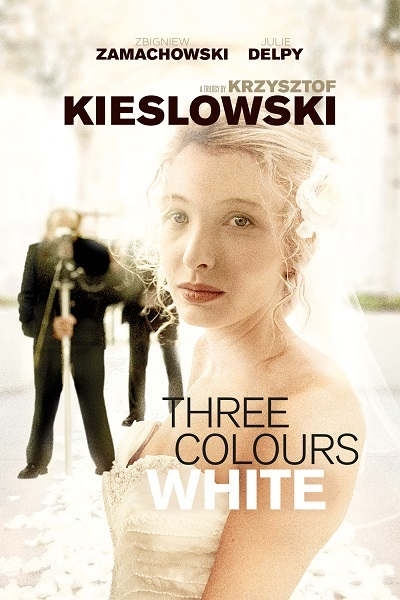 Three colours white Poster