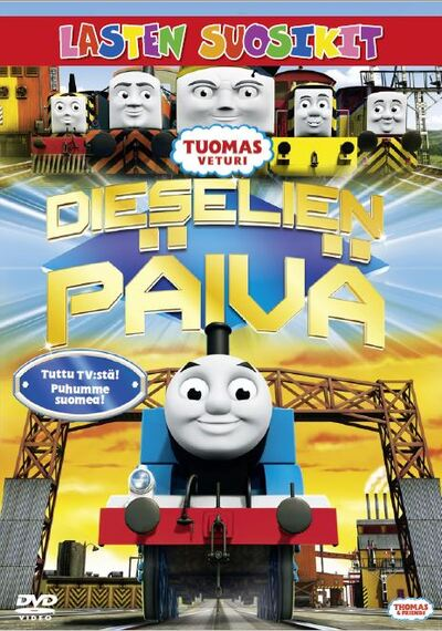 Thomas and friends - Day of the diesels Poster