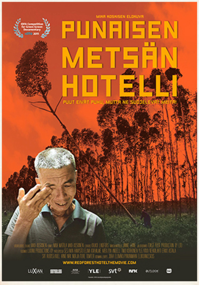 Red Forest Motel Poster