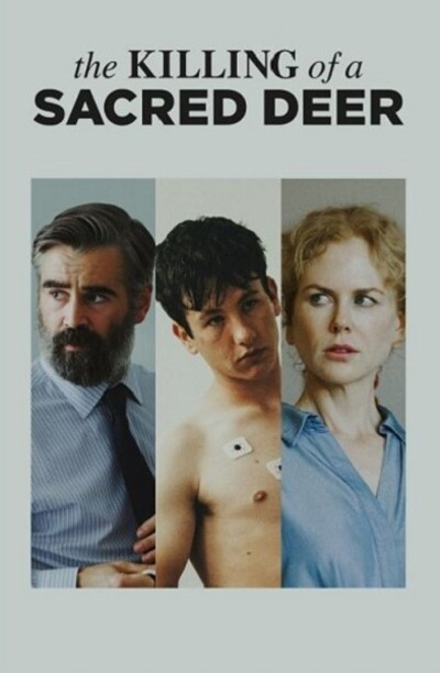 Killing of a sacred deer Poster