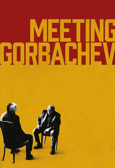 Meeting Gorbachev Poster
