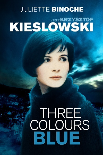 Three colours blue Poster