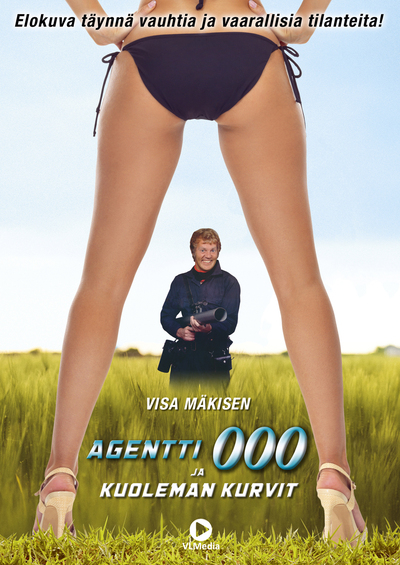 Agent 000 and The Deadly Curves Poster