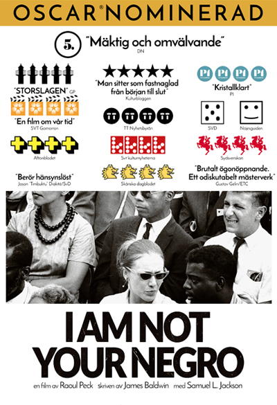 I Am Not Your Negro Poster
