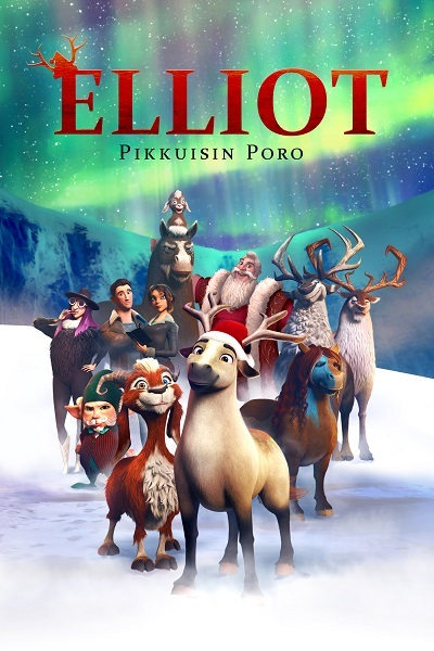 Elliot - the littlest reindeer Poster
