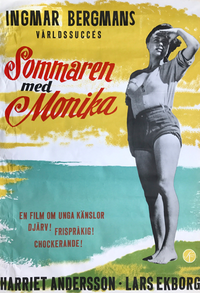 Summer with Monica Poster