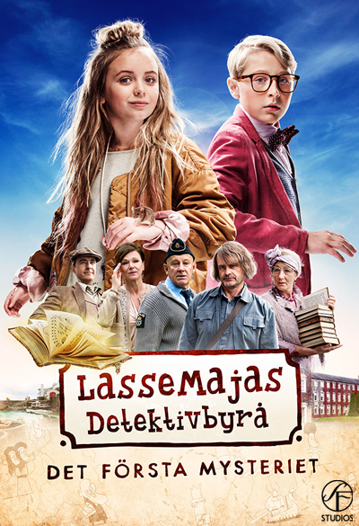 LasseMaja's Detective Agency - The first mystery Poster