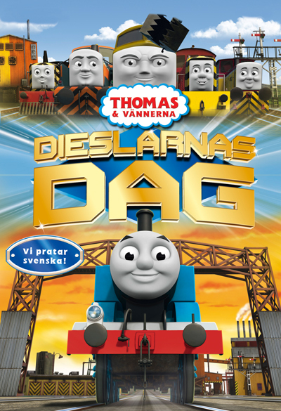 Thomas and Friends - The Day of the Diesels Poster