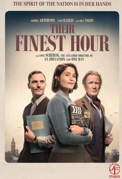 Their finest hour Poster