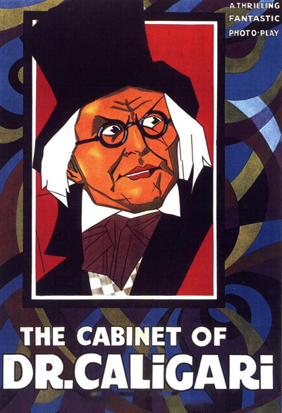 The Cabinet of Dr Caligari Poster