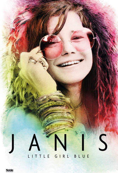 Janis - little girl blue Poster