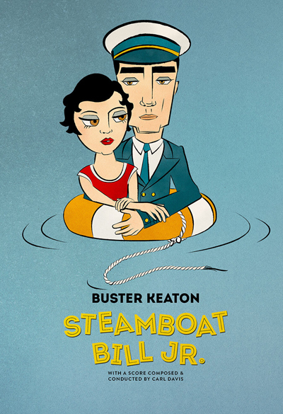 Steamboat Bill, Jr Poster