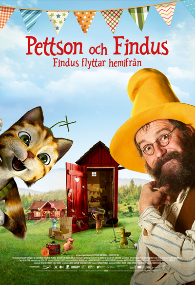 Pettson nad Findus - Findus move away from home Poster