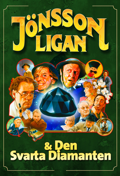 The Jönsson Gang & the Black Diamond Poster