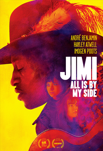 Jimi - All is by My Side Poster