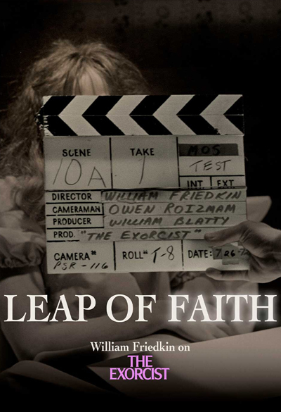 Leap of faith - William Friedkin on The exorcist Poster