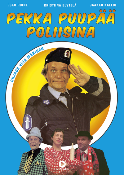 Pekka as a policeman Poster
