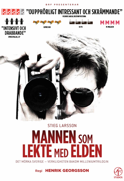 Stieg Larsson - The Man Who Played with Fire Poster