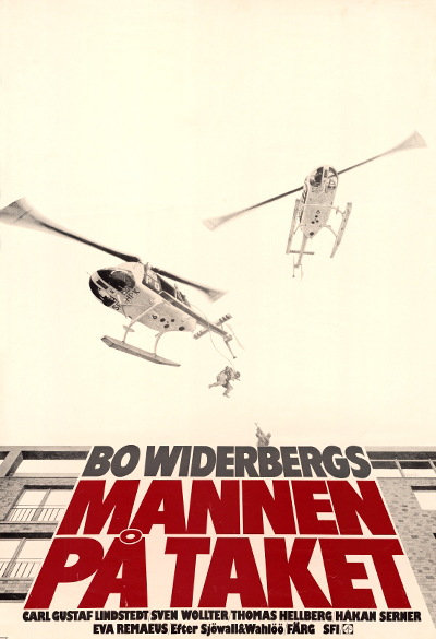 Man on the Roof Poster